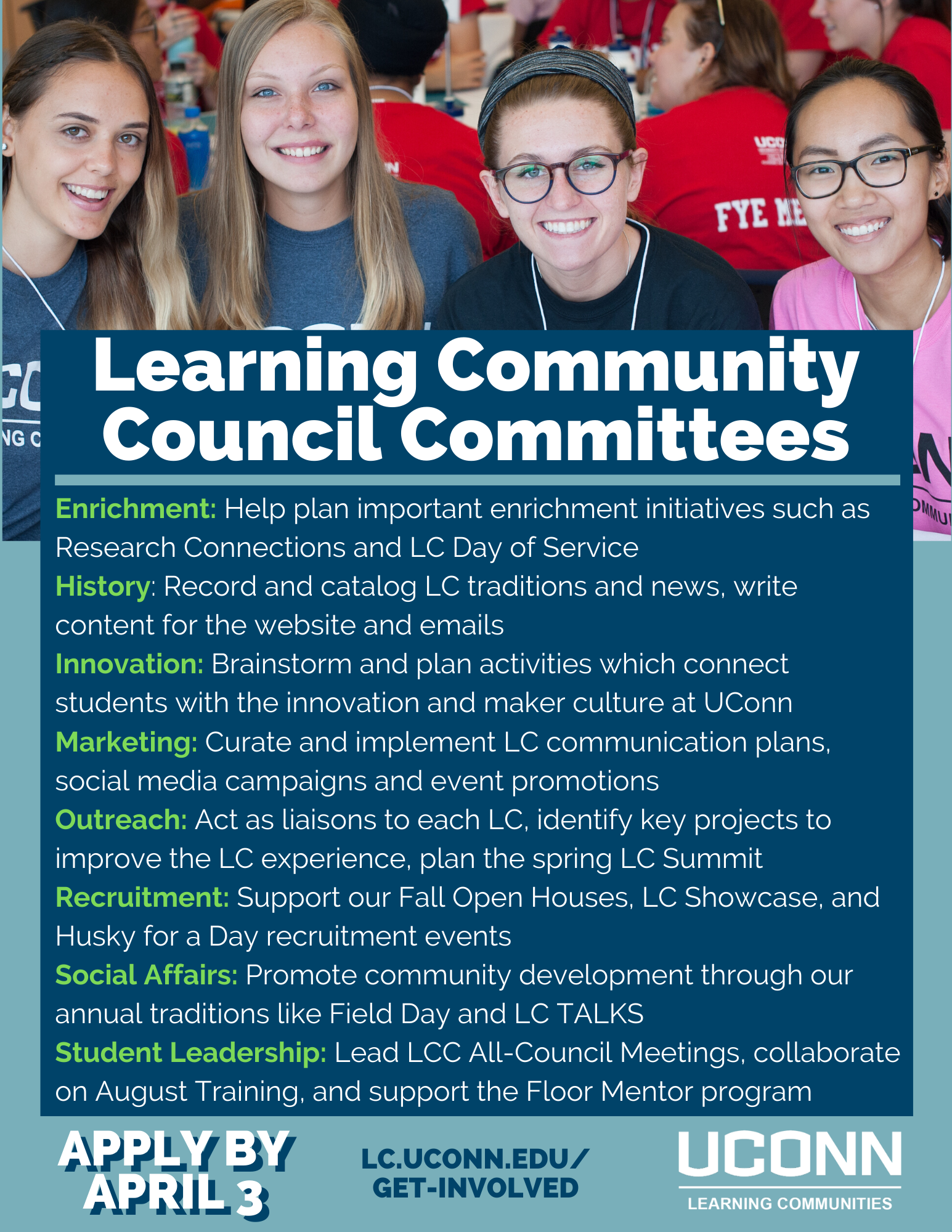 LCC Committee Descriptions