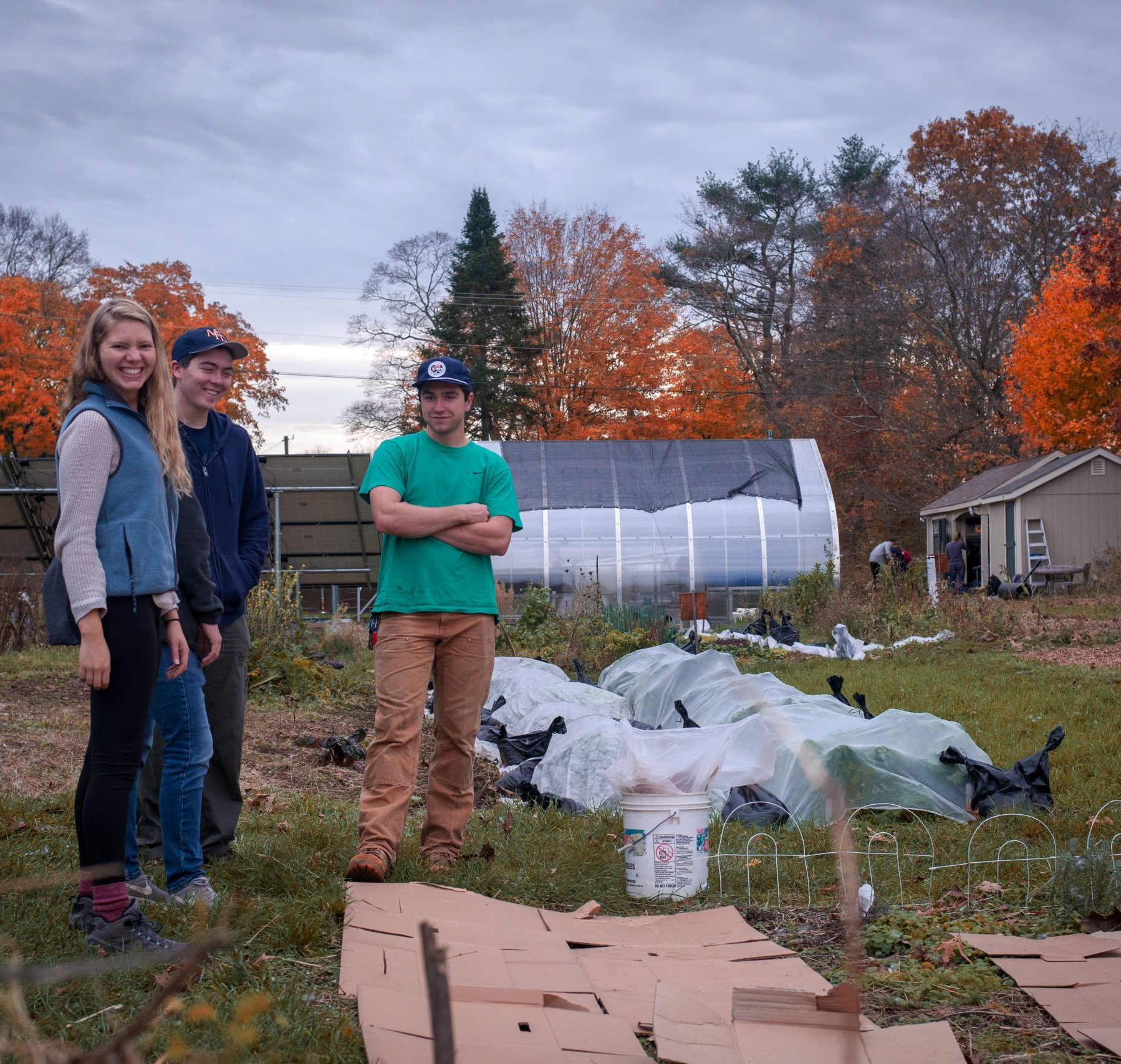 EcoHouse Student Photo
