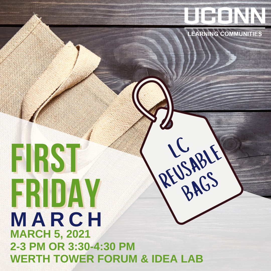 LC First Friday March 5 2-3pm or 3:30-4:30pm in the Werth Forum and Idea Lab