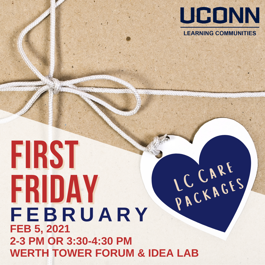 LC First Friday February 5 2-3pm or 3:30-4:30pm in the Werth Forum and Idea Lab