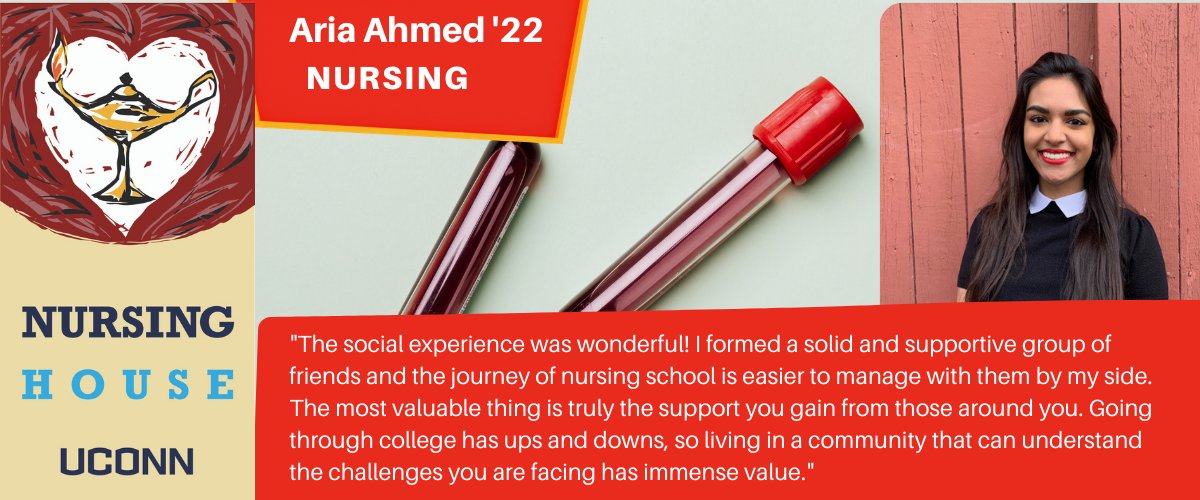 Aria: The social experience was wonderful! I formed a solid and supportive group of friends and the journey of nursing school is easier to manage with them by my side. The most valuable thing is truly the support you gain from those around you. Going through college has ups and downs, so living in a community that can understand the challenges you are facing has immense value.