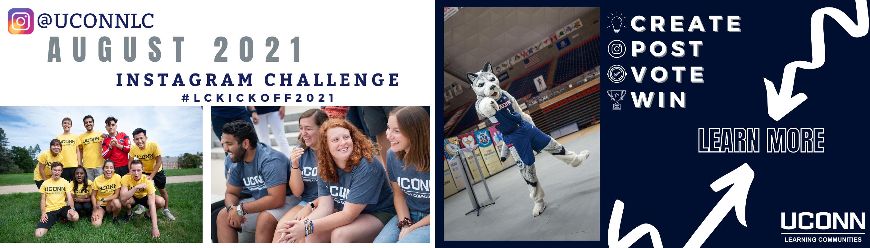 August 2021 LC Instagram Challenge Web Banner