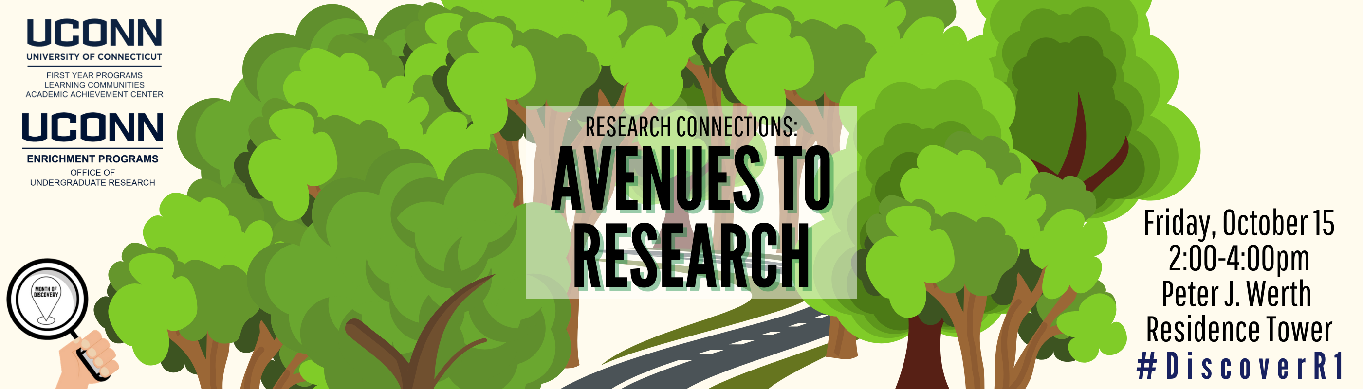 Research Connections 2021 October 15 2-4pm Werth Tower